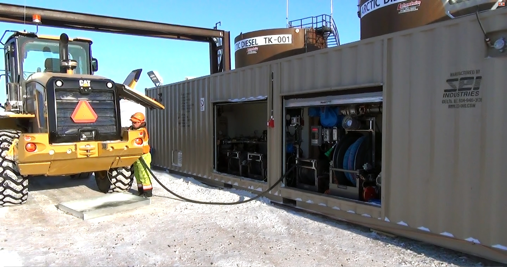 Go Station Refuelling Operational At Mine In Canada S