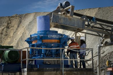 First installation of Enduron SP cone crusher demonstrates