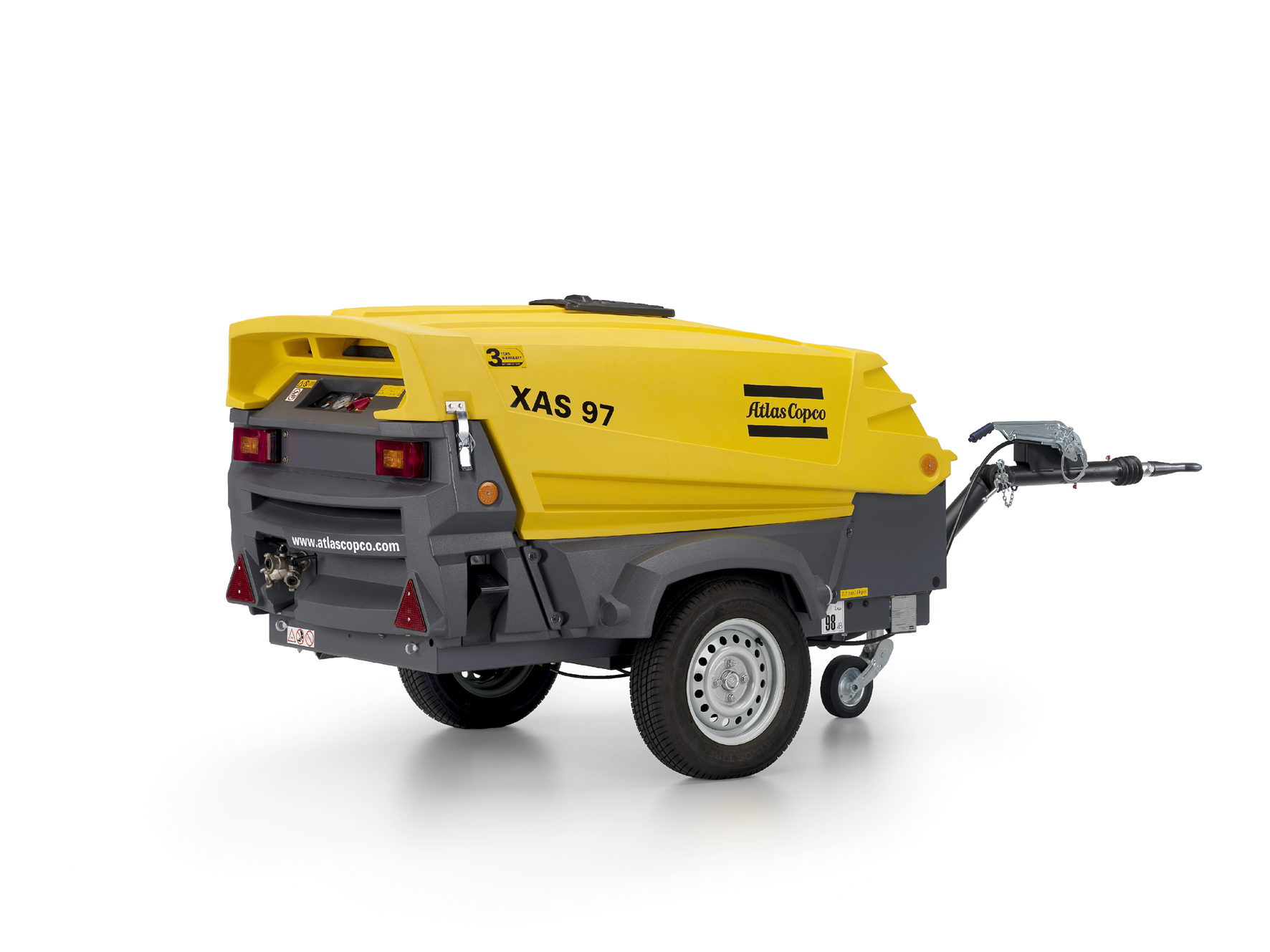 Atlas Copco Celebrates Decade Of Hardhat Canopy For Portable Compressors