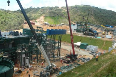 Colombia's San Ramon gold mine nears production