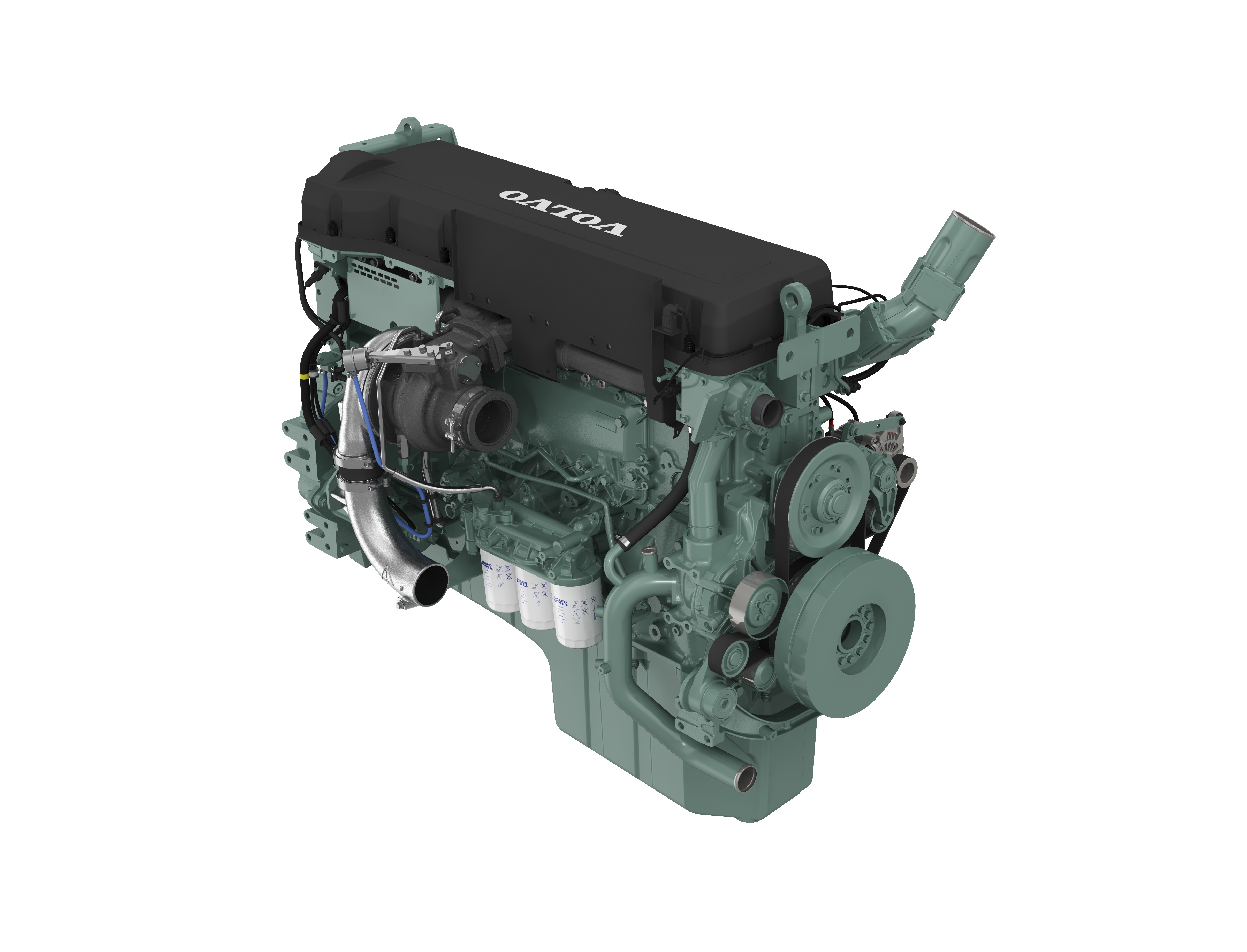 Volvo Penta collaborates with Sandvik on engine for its latest