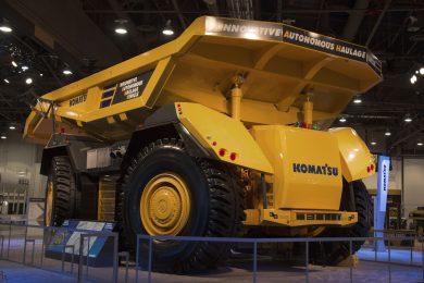 Komatsu haul truck autonomy goes cabless