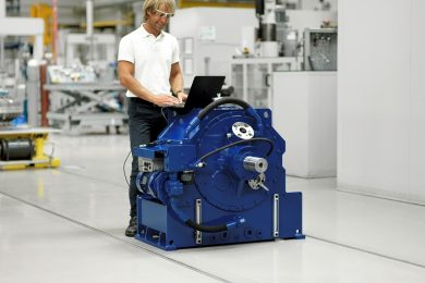 Voith introduces new coupling generation for intelligent driving of belt conveyor systems