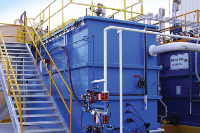 Minimising reagent inputs through advanced sulphate removal technology