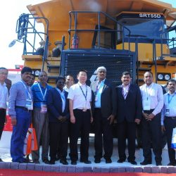 SANY launches mining range in India at IMME in Kolkata