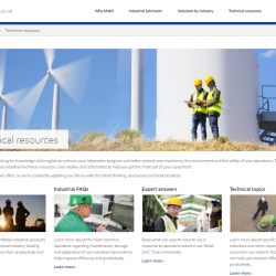 ExxonMobil introduces industrial lubricants digital knowledge centre