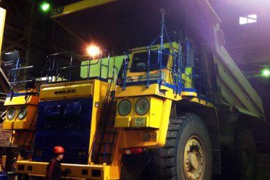 New BELAZ fleet at Aikhal MPD Jubilee mine in Sakha