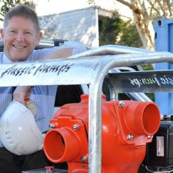 Aussie Pumps wins innovative product design award for hydrostatic test rig
