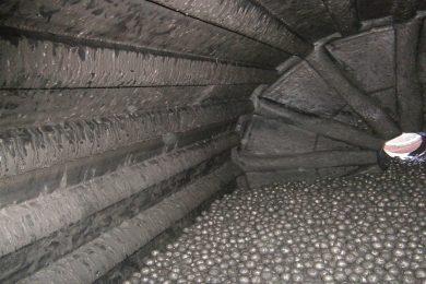 Trelleborg raises bar in ball mills with rubber lifter bars