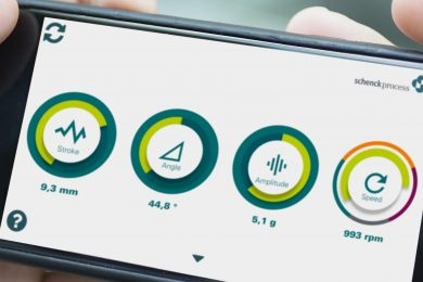 Monitor vibration from smartphone with vibe2know™ from Schenck