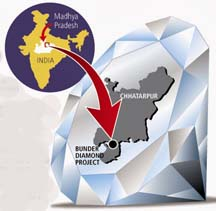 Rio Tinto gifts Bunder diamond project in India to Government of Madhya Pradesh