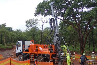 Second Multitec 9000 for exploration at Kamoa Copper