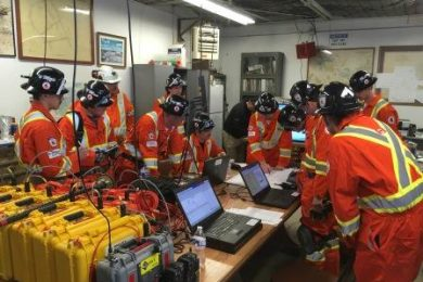 Laurentian's Bharti School Of Engineering wins global mine rescue competition