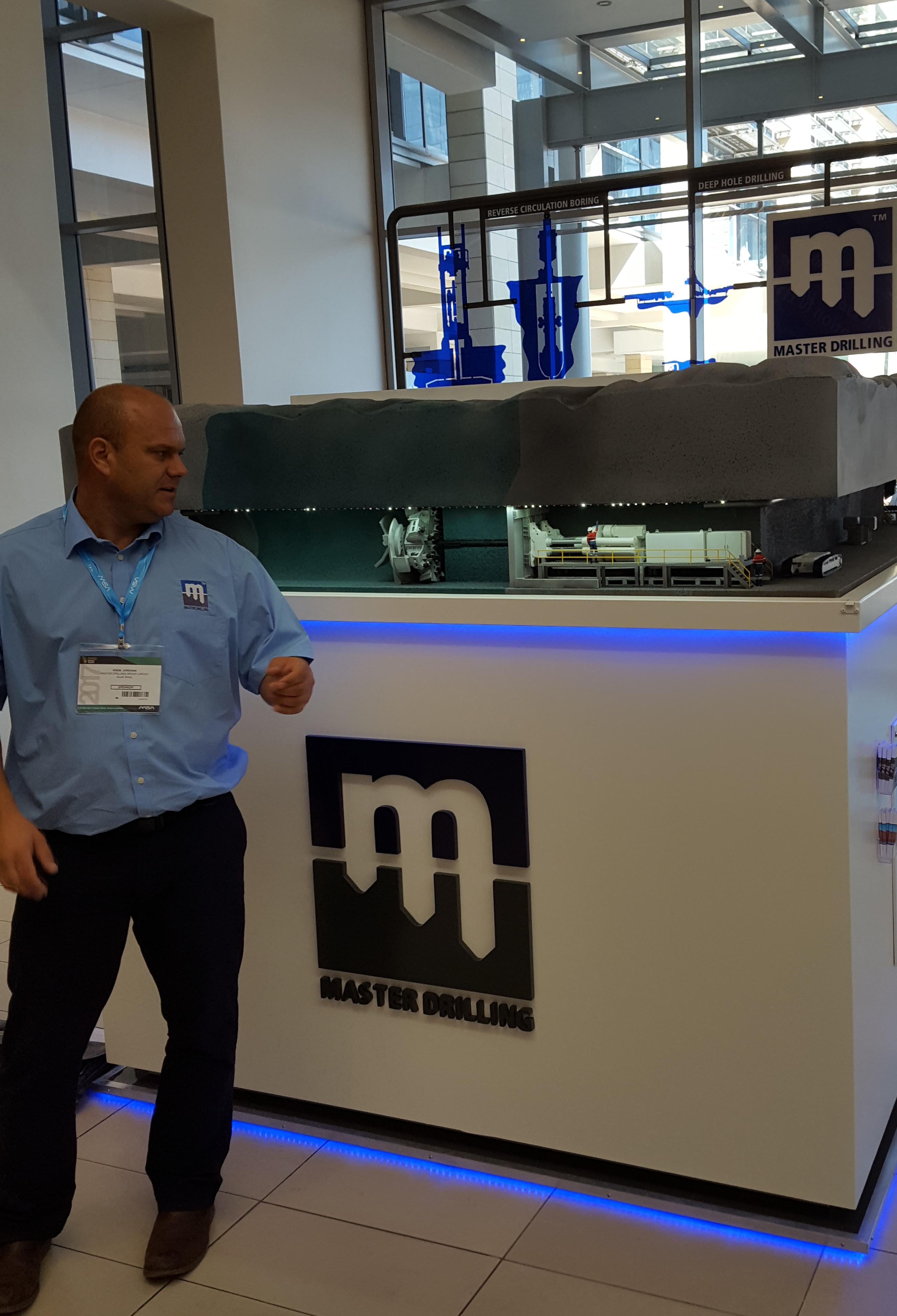 Master Drilling rolls out cutting-edge mining technology