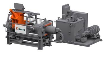 Metso introduces low-maintenance N Series NSP briquetting presses for metal-processing