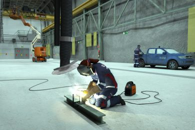 LKAB world's first with interactive work-environment and safety training