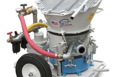 Airplaco gets Euro boost for gunite machine