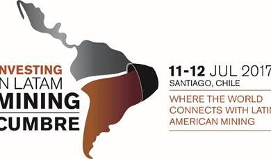 Investing in LatAm Mining Cumbre announces participation from Chile's Mining Minister and leading mining investors