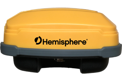 Hemisphere GNSS debuts A326 rugged GNSS smart antenna for machine control applications