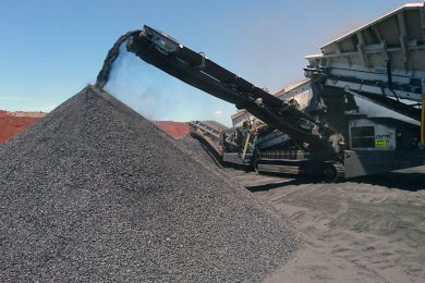 Pilot Crushtec supplies Metso Lokotrack to AMC for manganese mining