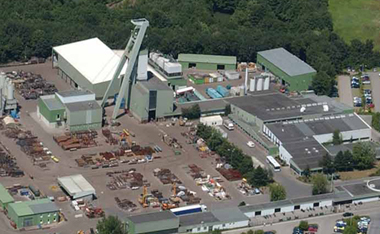 Old German coal mine to produce green energy?