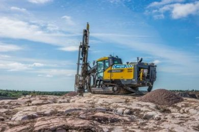 'Unbeatable' drilling record beaten and new Atlas Copco drill rig