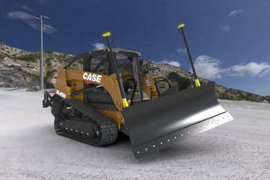 CASE introduces the DL450 – industry first fully integrated compact dozer loader