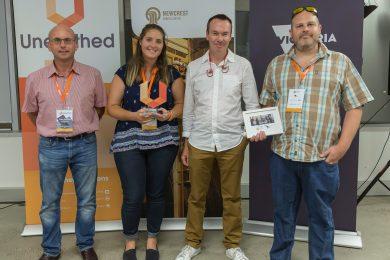 Gekko team wins 2017 Unearthed Hackathon