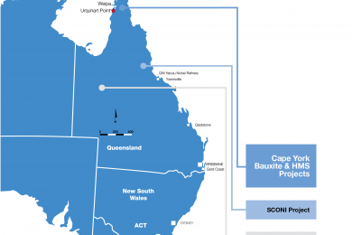 Urquhart bauxite (Australia) mining and haulage contractor appointed