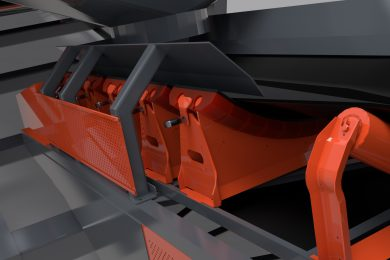 Superior expands line of conveyor components accessories with new impact cradle