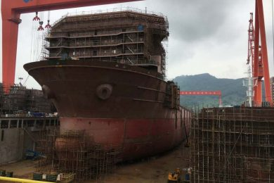 Nautilus Launch and Recovery System arrives in China for integration with PSV