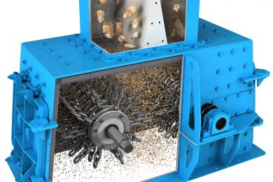 Chain mills for phosphate handling
