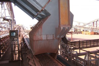 Weba Chute Systems assists in dust reduction at mines