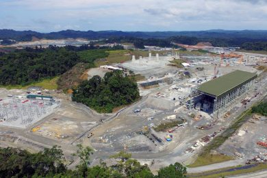 Cobre Panama copper mine on target for phased-commissioning in 2018