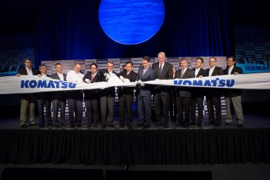 Ribbon cutting marks start of new journey for Komatsu Mining Corp