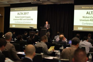 Comprehensive coverage of metallurgical matters at ALTA 2017