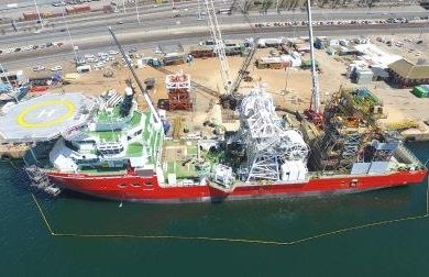 World's most advanced diamond exploration vessel officially reports for duty