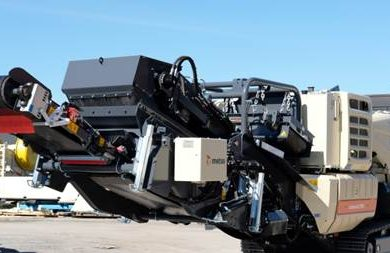Major Metso crusher launches at Steinexpo