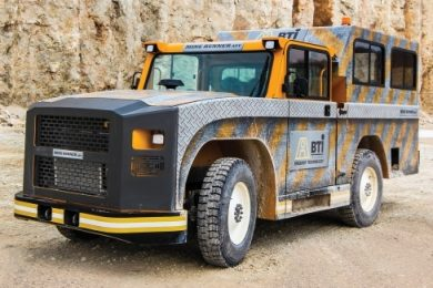 BTI Mine Runner gaining traction underground