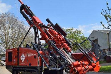 Dando Drilling unveils Multitec 4000 Mk3
