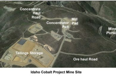 eCobalt commences pre-construction activities on the Idaho cobalt project
