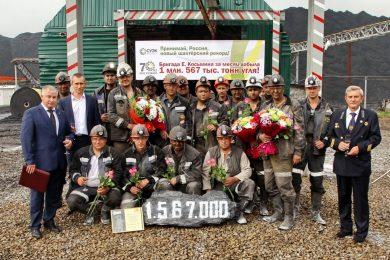 Russian longwall mine sets world coal production record