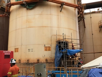 Barrick turns to Belzona for coating solution on Pueblo Viejo slurry tanks
