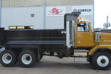 Western Star fleet up-fitted by Curry Supply for Guyana gold mine