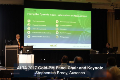 ALTA 2017 cyanide alternatives/alleviation panel discussion