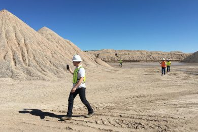 Stockpile Reports Lite app offers quick way to assess material inventories for quarry operators