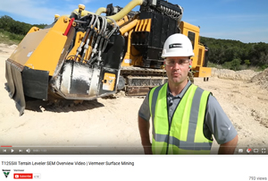 VIDEO: Learn more about the Vermeer T1255III Single-Sided Direct Drive Terrain Leveler SEM