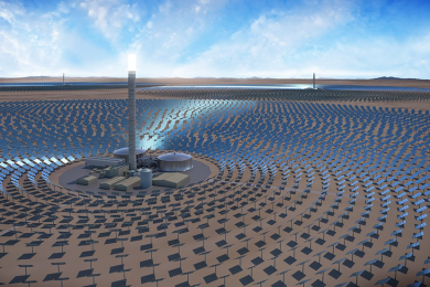 SolarReserve environmental approval for 390 MW solar thermal facility with storage in Chile