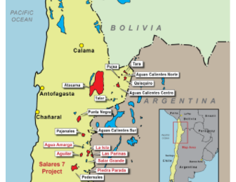 Wealth to acquire interest in 'Seven Salars' lithium project in Chile