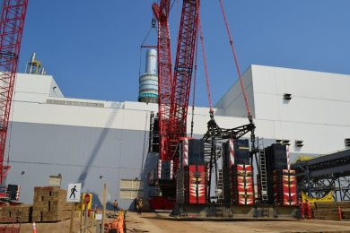 Mammoet helps Bethune potash mine commissioning with major lifts